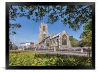 St Giles Church, Framed Print
