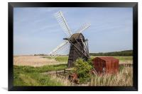 Herringfleet Smock Mill, Framed Print