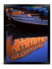 Reflections of Venice, Framed Print