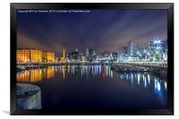 Salthouse Dock - Liverpool, Framed Print