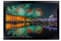 Liverpool River Of Light, Framed Print