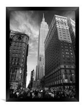 Empire State Building, Framed Print