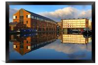 Victoria Quays,Sheffield, Framed Print