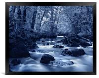 River Yealm at Yealmpton, Framed Print