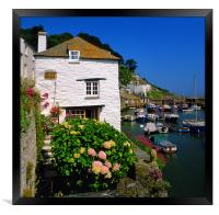Old Watch House & Polperro Harbour, Framed Print
