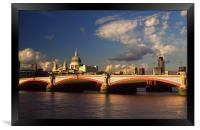 City of London, Framed Print