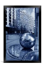 Millennium Square, Sheffield, Framed Print