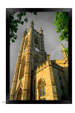 St Marys Church, Bramall Lane,Sheffield, Framed Print