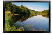 More Hall Reservoir, Peak District near Sheffield, Framed Print