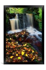 River Rivelin Waterfalls, Framed Print