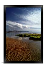Lyme Regis Beach & Bay, Framed Print