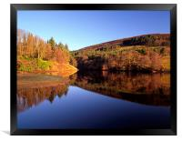 Ladybower Reflections, Framed Print