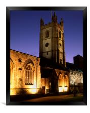 St Andrews Church, Plymouth, Framed Print