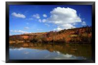 Ulley Reservoir Reflections, Framed Print
