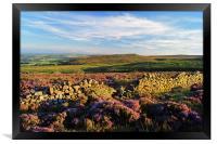 Burbage Moor & Houndkirk Hill, Framed Print
