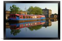 Sheffield Canal Reflections, Framed Print