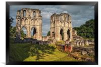 Roche Abbey Ruins, Framed Print