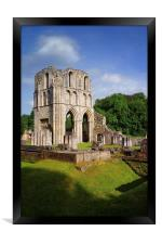Roche Abbey Ruins 2, Framed Print