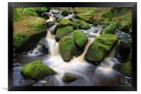 Wyming Brook Falls 3, Framed Print