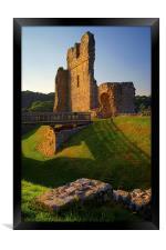 Ogmore Castle, Framed Print