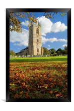 St Peter and St Paul's Church, Sturton-le-Steeple , Framed Print