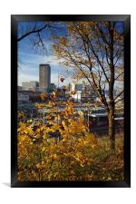 Sheffield Skyline from Park Hill, Framed Print