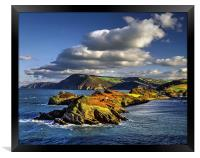 Watermouth Cove, North Devon , Framed Print