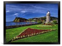 Teignmouth Lighthouse , Framed Print