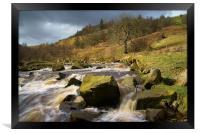 River Ashop , Framed Print