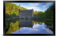 Gibson Mill, Hardcastle Crags, Hebdon Bridge , Framed Print