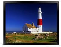 Portland Bill Lighthouse, Framed Print