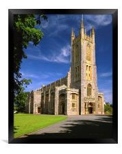 Holy Trinity Church, Exmouth, Framed Print