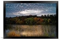 Ulley Sunrise, Framed Print