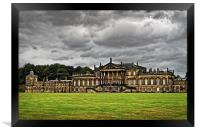 Wentworth Woodhouse , Framed Print
