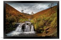 Fair Brook Falls , Framed Print