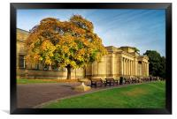 Weston Park Museum in Autumn, Framed Print