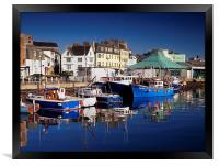 The Barbican, Plymouth, Framed Print