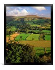 Lose Hill, Framed Print
