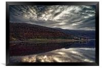 Ladybower Sunset                               , Framed Print