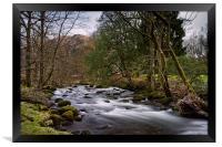 River Rothay                               , Framed Print