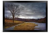 Rydal Water in Winter                             , Framed Print