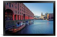 Albert Dock, Liverpool                            , Framed Print