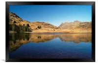 Blea Tarn Reflections                     , Framed Print