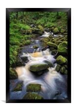 Padley Gorge                    , Framed Print
