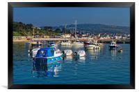 Lyme Regis Harbour                       , Framed Print