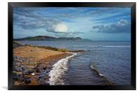 Golden Cap and Jurassic Coastline                 , Framed Print