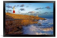 Portland Bill Lighthouse                          , Framed Print