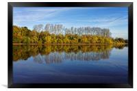 Chard Reservoir                             , Framed Print