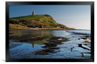Kimmeridge Bay                      , Framed Print