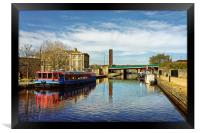 Victoria Quays, Sheffield                         , Framed Print